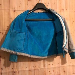 Snozu Girl/boy Jacket XS 5/6 Rain Fleece b…